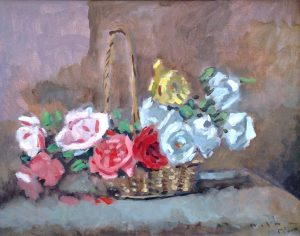 frederick-mcduff-basket-of-roses-findlay