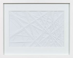 Blauswunder, 2014 Hand cut paper 12 x 15 inches