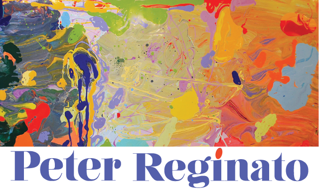 Peter Reginato - Contemporary Abstract Painter