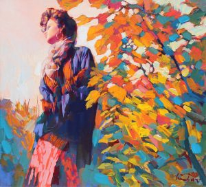 findlay-galleries-nicola-simbari-Autumn Leaves