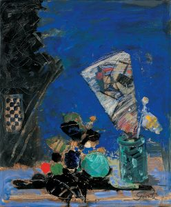 Findlay-Galleries-Gilles-Gorriti-Nature-Morte-bleue