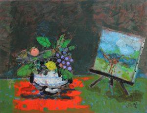 Findlay-Galleries-Gilles-Gorriti-Le-compotier