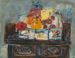 Findlay-Galleries-Paul-Aïzpir-Nature-morte-aux-fruits-sur-une-commode