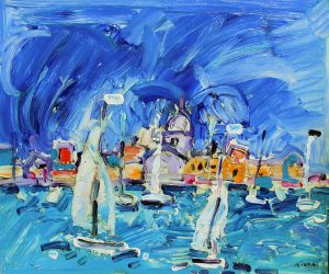 Findlay-Galleries-Paul-Aïzpir-Saint-Tropez