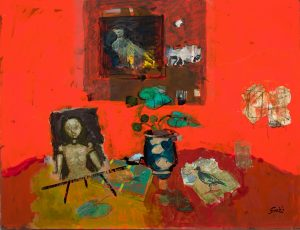 Findlay-Galleries-Gilles-Gorriti-Composition-rouge