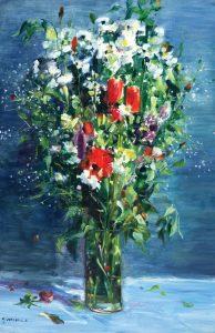 Gaston Sebire Le bouquet fleurs d'été