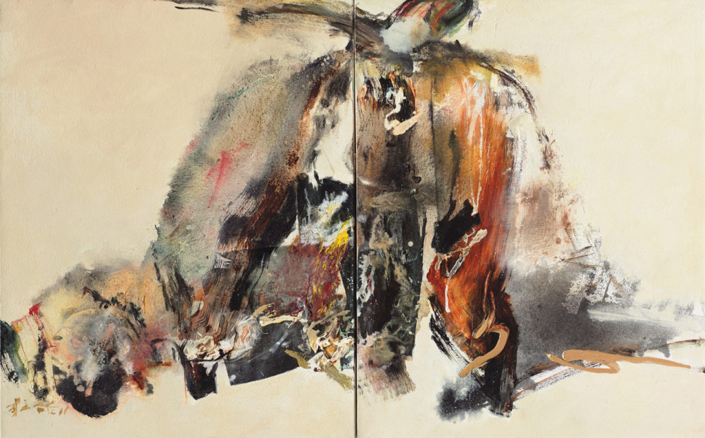Findlay Galleries chuang Che Asian Abstract Painting